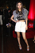 Actress Victoria Justice attends the Red Light Management 2015 Grammy Awards After Party held at Mondrian Hotel on February 8 2015 in Los Angeles...