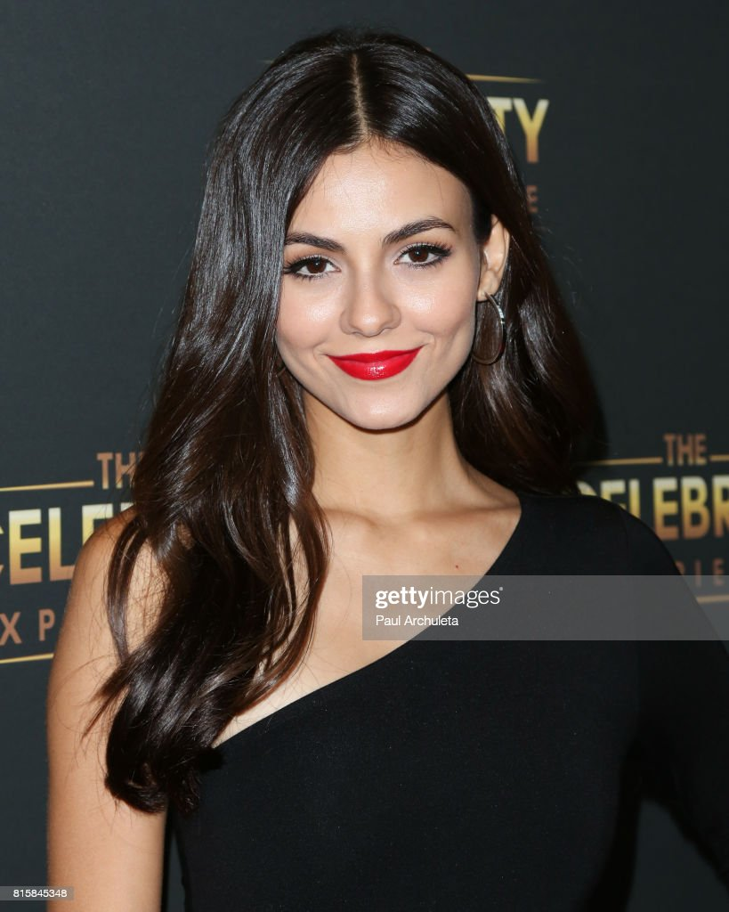 Actress Victoria Justice attends the The Celebrity Experience at The Hilton Universal Hotel on July 16, 2017 in Los Angeles, California.