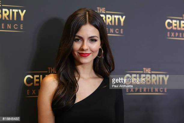 Actress Victoria Justice attends the The Celebrity Experience at The Hilton Universal Hotel on July 16 2017 in Los Angeles California