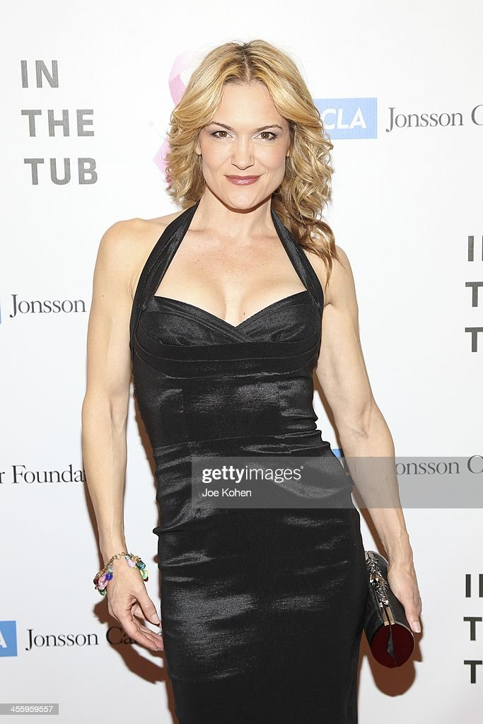 Actress Victoria Pratt attends TJ Scott's 'In The Tub' book launch party at Light in Art on December 12, 2013 in Los Angeles, California.