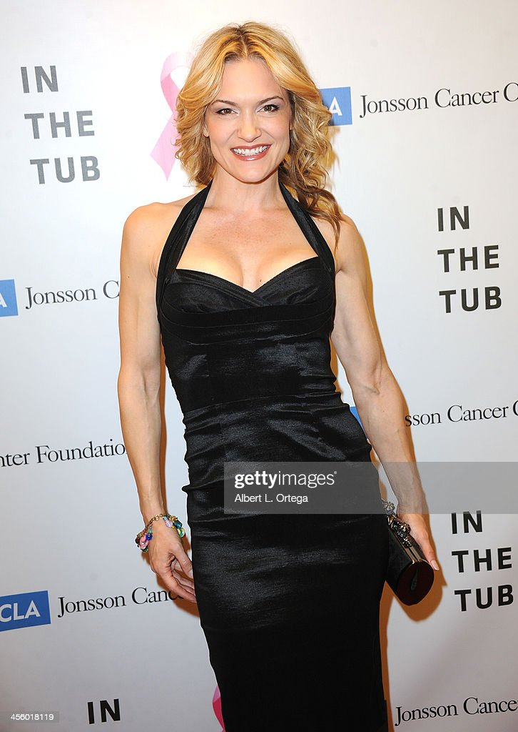 Actress Victoria Pratt attends TJ Scott's 'In The Tub' Book Party Launch to benefit UCLA's Jonsson Cancer Center for Breast Research hosted by Katrina Law of 'Spartacus' held at Light In Art on December 12, 2013 in Los Angeles, California.