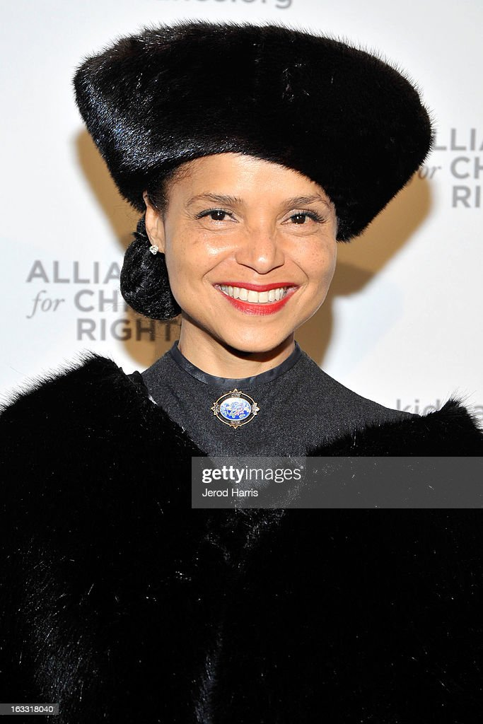 Actress Victoria Rowell arrives at The Alliance for Children's Rights 21st annual gala at The Beverly Hilton Hotel on March 7, 2013 in Beverly Hills, California.