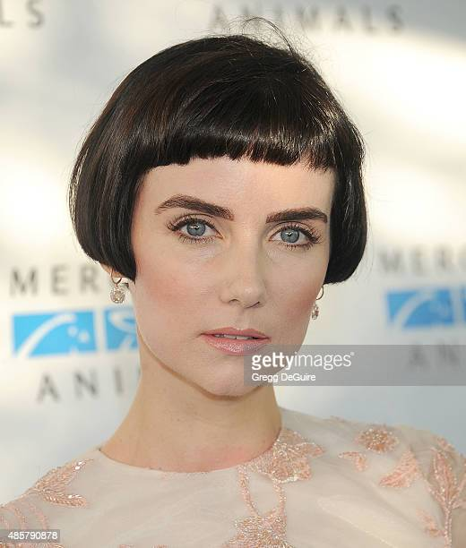 Actress Victoria Summer arrives at The Hidden Heroes Gala presented by Mercy For Animals at Unici Casa on August 29 2015 in Culver City California