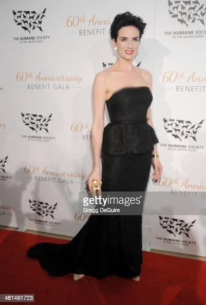 Actress Victoria Summer arrives at The Humane Society Of The United States 60th anniversary benefit gala at The Beverly Hilton Hotel on March 29 2014...