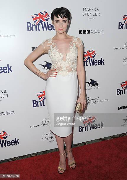 Actress Victoria Summer attends BritWeek's 10th Anniversary VIP Reception Gala at Fairmont Hotel on May 1 2016 in Los Angeles California