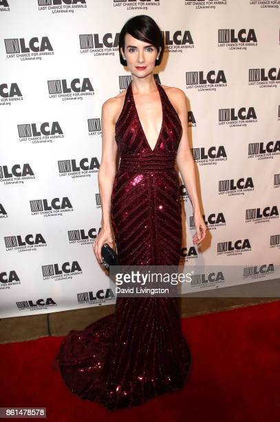Actress Victoria Summer attends Last Chance for Animals 33rd Annual Celebrity Benefit Gala at The Beverly Hilton Hotel on October 14 2017 in Beverly...