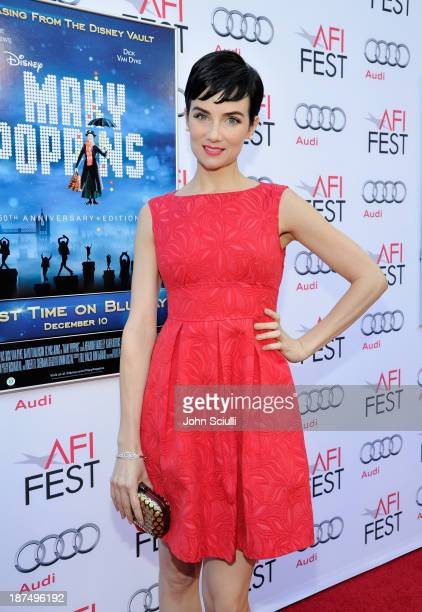 Actress Victoria Summer attends Mary Poppins 50th Anniversary Commemoration Screening at AFI Fest at TCL Chinese Theatre on November 9 2013 in...