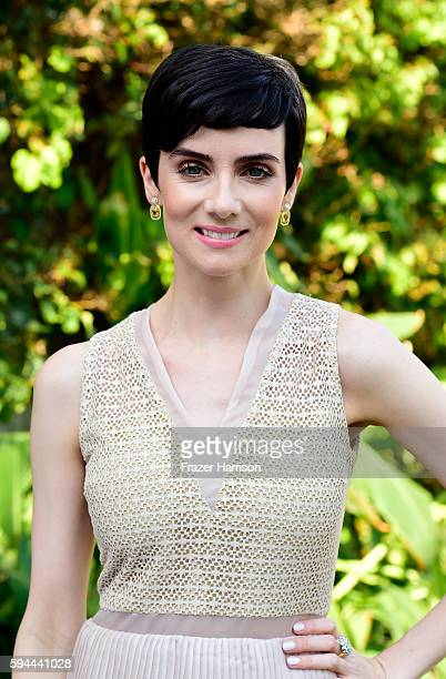 Actress Victoria Summer attends Tea With Victoria Summer at British Consulate General Residence To Benefit Teen Cancer America on August 23 2016 in...