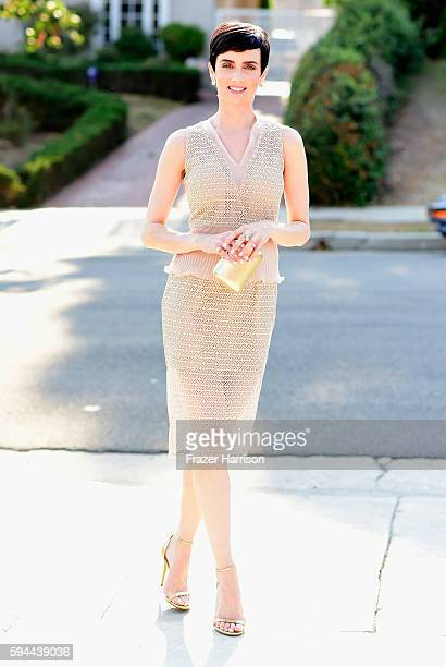 Actress Victoria Summer attends Tea With Victoria Summer at the British Consulate General Residence To Benefit Teen Cancer America on August 23 2016...