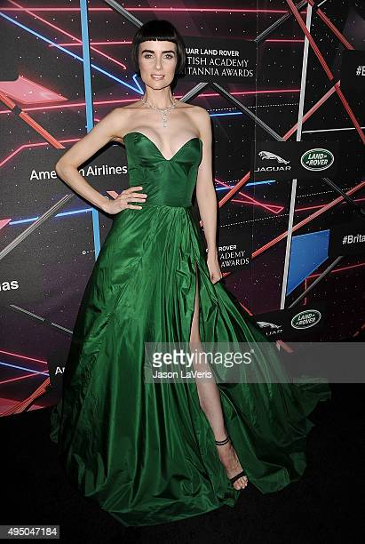 Actress Victoria Summer attends the 2015 British Academy Britannia Awards at The Beverly Hilton Hotel on October 30 2015 in Beverly Hills California