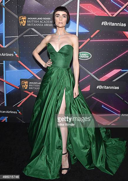 Actress Victoria Summer attends the 2015 Jaguar Land Rover British Academy Britannia Awards presented by American Airlines at The Beverly Hilton...
