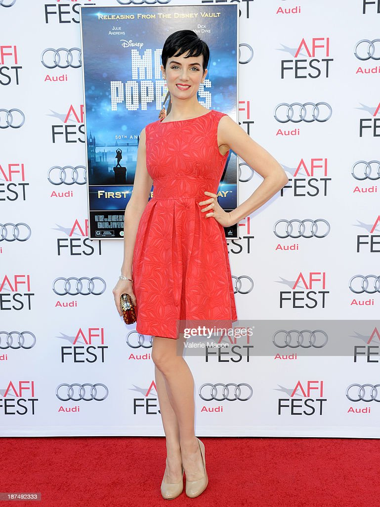 Actress <a gi-track='captionPersonalityLinkClicked' href=/galleries/search?phrase=Victoria+Summer&family=editorial&specificpeople=7721641 ng-click='$event.stopPropagation()'>Victoria Summer</a> attends the 50th anniversary commemoration screening of Disney's 'Mary Poppins' during AFI FEST 2013 presented by Audi at TCL Chinese Theatre on November 9, 2013 in Hollywood, California.