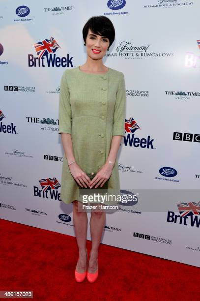 Actress Victoria Summer attends the 8th Annual BritWeek Launch Party at a private residence on April 22 2014 in Los Angeles California