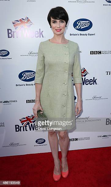 Actress Victoria Summer attends the 8th Annual BritWeek Launch Party on April 22 2014 in Los Angeles California