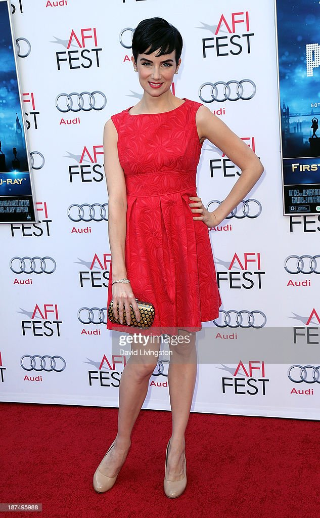 Actress <a gi-track='captionPersonalityLinkClicked' href=/galleries/search?phrase=Victoria+Summer&family=editorial&specificpeople=7721641 ng-click='$event.stopPropagation()'>Victoria Summer</a> attends the AFI FEST 2013 presented by Audi 50th Anniversary Commemoration Screening of Disney's 'Mary Poppins' at the TCL Chinese Theatre on November 9, 2013 in Hollywood, California.