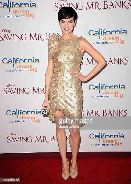 Actress Victoria Summer attends the premiere of 'Saving Mr Banks' at Walt Disney Studios on December 9 2013 in Burbank California