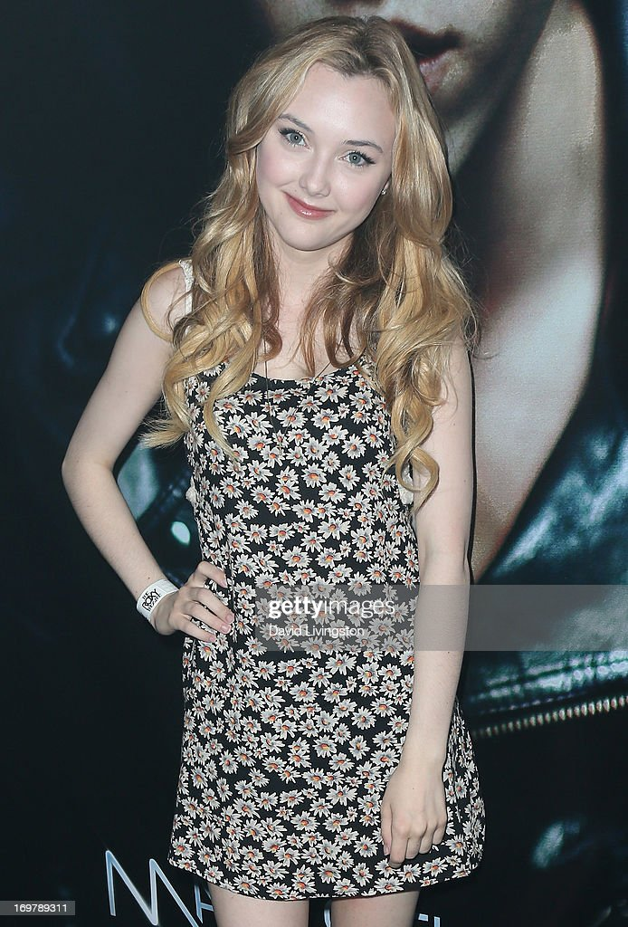Actress Victory Van Tuyl attends the kickoff for Max Schneider's 'Nothing Without Love' summer tour at the Roxy Theatre on June 1, 2013 in West Hollywood, California.
