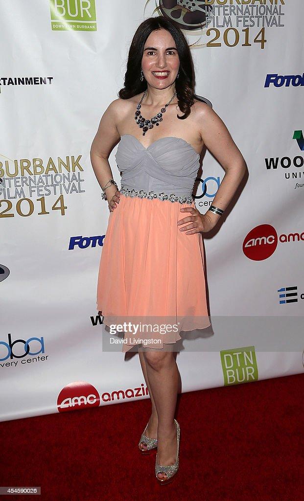 Actress Vida Ghaffari attends the Burbank International Film Festival opening night at AMC Burbank 16 on September 3 2014 in Burbank California