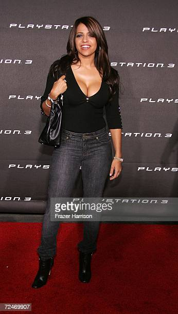 Actress Vida Guerra arrives at the Launch Party For Sony Computer Entertainment America Playstation 3 held on November 82006 in Beverly Hills...