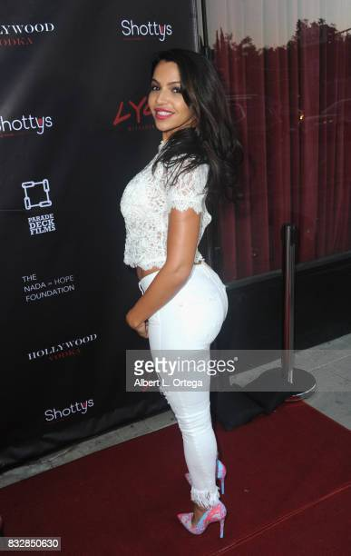 "Actress Vida Guerra arrives for the Premiere Of Parade Deck's ""Lycan"" held at Laemmle's Ahrya Fine Arts Theatre on August 15 2017 in Beverly Hills..."