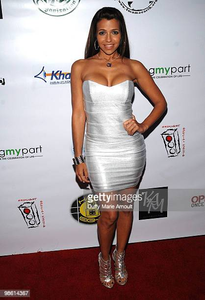 Actress Vida Guerra attends Watering Seeds Organization Gala on April 21 2010 in Los Angeles California