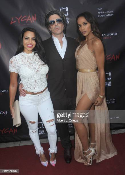 "Actress Vida Guerra director Bev Land actress Dania Ramirez and actress Vanessa Angel arrive for the Premiere Of Parade Deck's ""Lycan"" held at..."