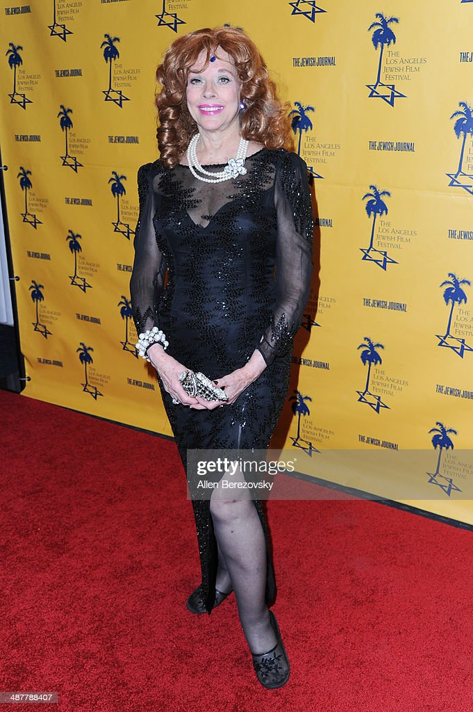 Actress Vikki Dougan arrives at the 9th Annual Los Angeles Jewish Film Festival Opening Night Gala honoring Carl Reiner with tributes at Saban Theatre on May 1, 2014 in Beverly Hills, California.