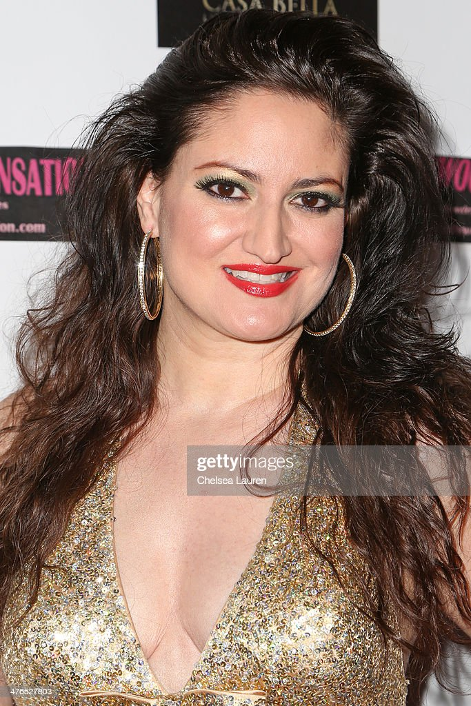 Actress Vikki Lizzi arrives at the Hellman & Waters 4th annual salute to the stars Oscar event at W Hollywood on March 2, 2014 in Hollywood, California.