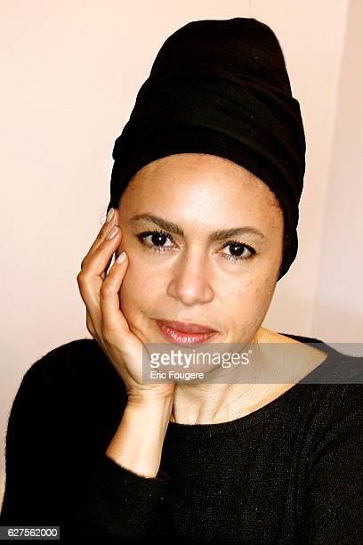 Actress Viktor Lazlo photographed in Paris