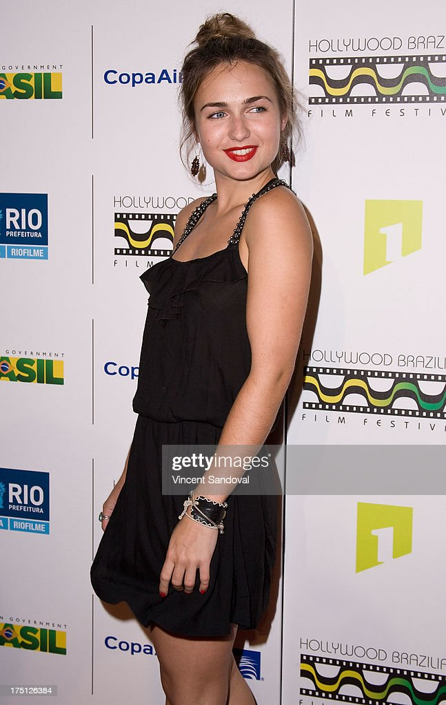 Actress Viktoria Vinyarska attends the 5th annual Hollywood Brazilian Film Festival at the Egyptian Theatre on July 31, 2013 in Hollywood, California.