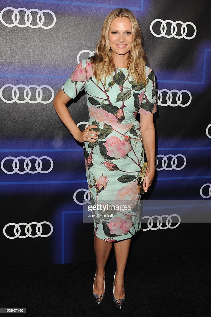 Actress Vinessa Shaw arrives at Audi Emmy Week Celebration at Cecconi's Restaurant on August 21, 2014 in Los Angeles, California.