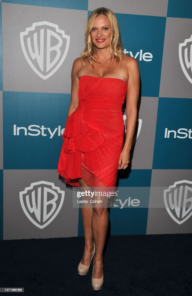 Actress <a gi-track='captionPersonalityLinkClicked' href=/galleries/search?phrase=Vinessa+Shaw&family=editorial&specificpeople=834769 ng-click='$event.stopPropagation()'>Vinessa Shaw</a> arrives at the 13th Annual Warner Bros. and InStyle Golden Globe After Party held at The Beverly Hilton hotel on January 15, 2012 in Beverly Hills, California.