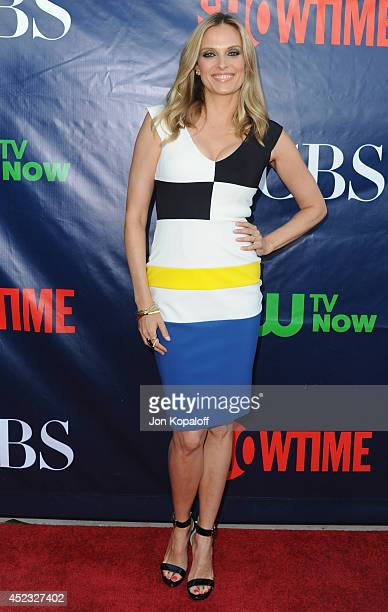 Actress Vinessa Shaw arrives at the CBS The CW Showtime CBS Television Distribution 2014 Television Critics Association Summer Press Tour at Pacific...