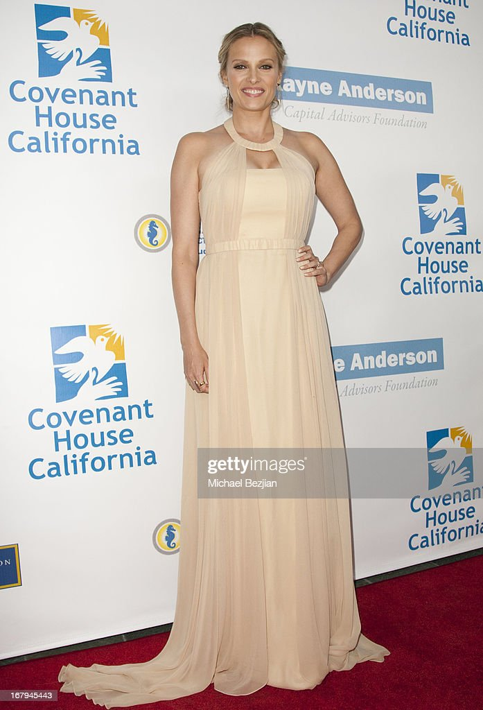 Actress Vinessa Shaw arrives at the Covenant House California 2013 Gala And Awards Dinner at Skirball Cultural Center on May 2, 2013 in Los Angeles, California.