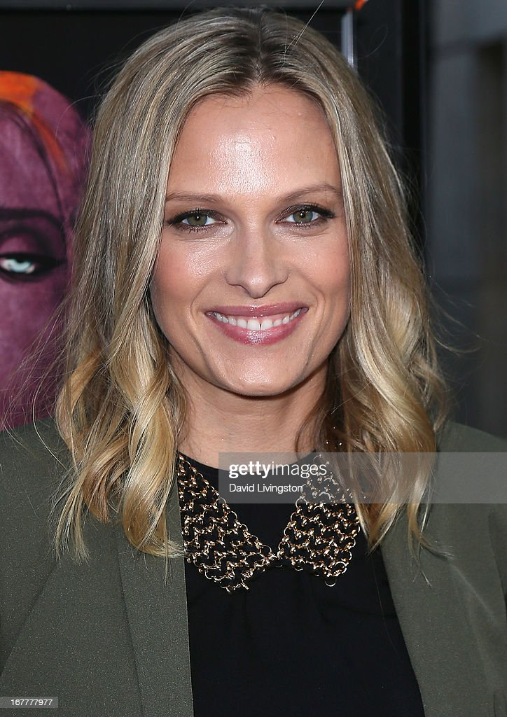 Actress <a gi-track='captionPersonalityLinkClicked' href=/galleries/search?phrase=Vinessa+Shaw&family=editorial&specificpeople=834769 ng-click='$event.stopPropagation()'>Vinessa Shaw</a> attends a screening of Magnolia Pictures' 'Kiss of the Damned' at ArcLight Cinemas on April 29, 2013 in Hollywood, California.