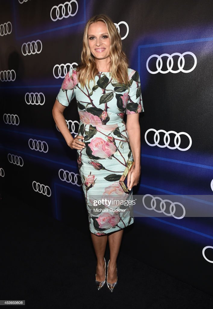 Actress Vinessa Shaw attends Audi's Celebration of Emmys Week 2014 at Cecconi's Restaurant on August 21, 2014 in Los Angeles, California.