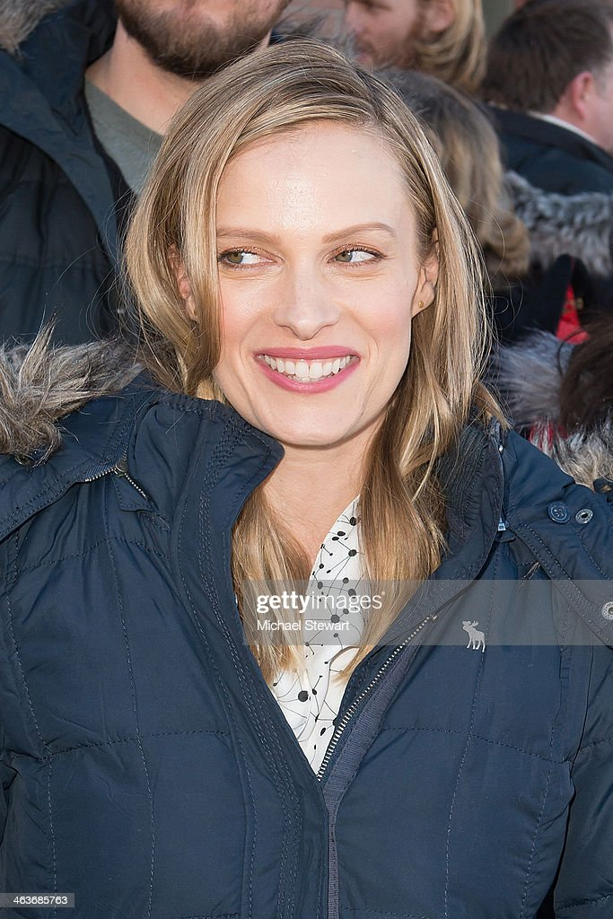 Actress Vinessa Shaw attends Oakley Learn To Ride With AOL at Sundance on January 18, 2014 in Park City, Utah.