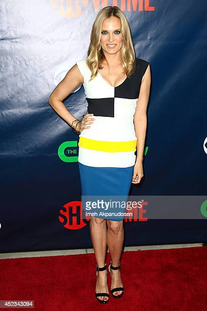 Actress Vinessa Shaw attends the CBS The CW Showtime CBS Television Distribution's 2014 TCA Summer Press Tour Party at Pacific Design Center on July...