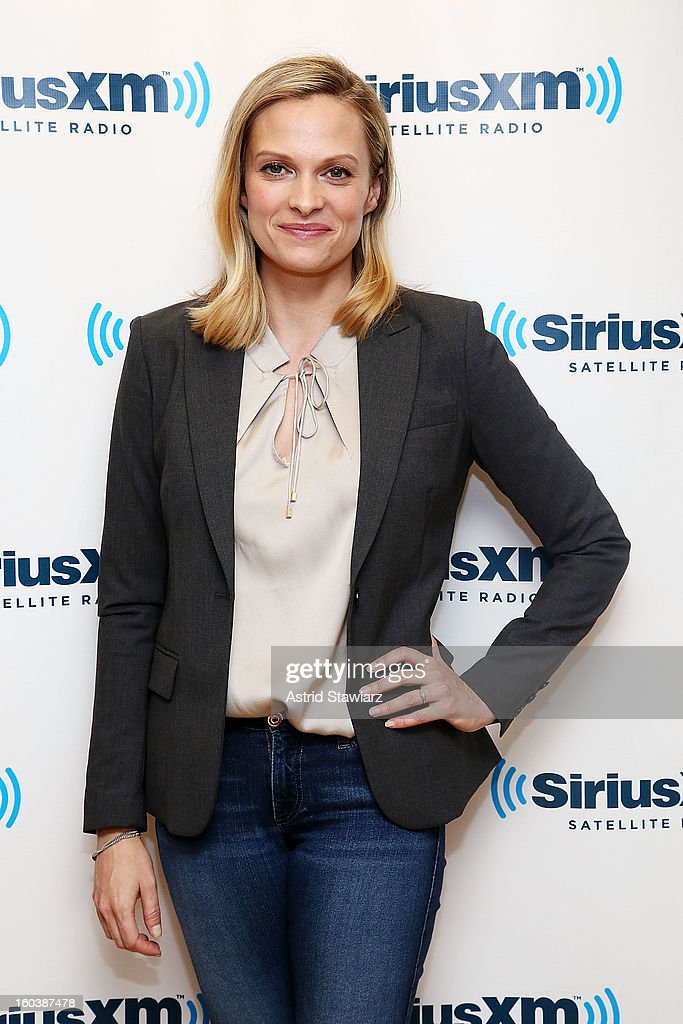 Actress Vinessa Shaw visits the SiriusXM Studios on January 30, 2013 in New York City.