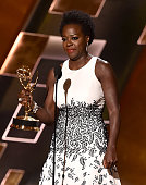 Actress Viola Davis accepts Outstanding Lead Actress in a Drama Series award for 'How to Get Away with Murder' onstage during the 67th Annual...