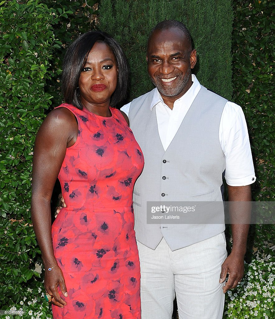 Actress Viola Davis and husband Julius Tennon attend the Rape Foundation's annual brunch on September 25, 2016 in Beverly Hills, California.