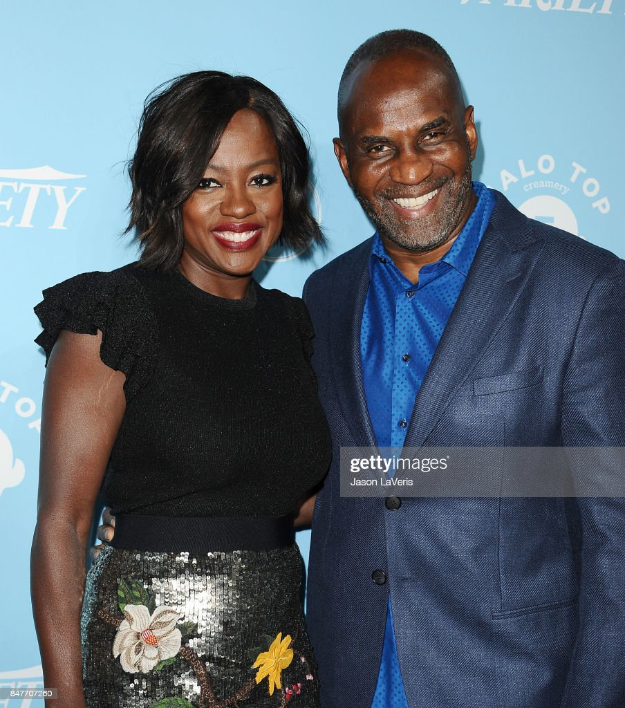 Actress Viola Davis and husband Julius Tennon attend Variety and Women In Film's 2017 pre-Emmy celebration at Gracias Madre on September 15, 2017 in West Hollywood, California.