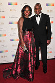 Actress Viola Davis and Julius Tennon arrive at the 38th Annual Kennedy Center Honors Gala at the Kennedy Center for the Performing Arts on December...