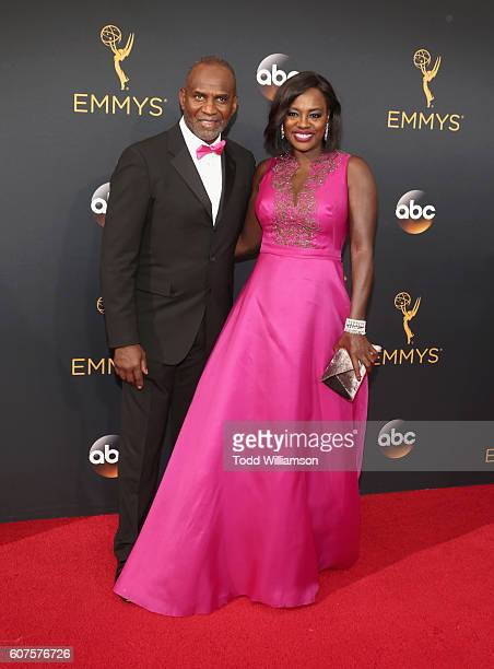 Actress Viola Davis and Julius Tennon attend the 68th Annual Primetime Emmy Awards at Microsoft Theater on September 18 2016 in Los Angeles California