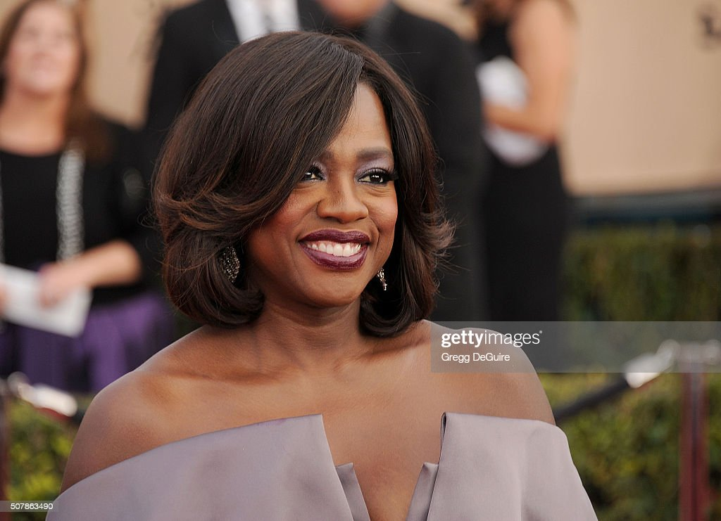 Actress Viola Davis arrives at the 22nd Annual Screen Actors Guild Awards at The Shrine Auditorium on January 30, 2016 in Los Angeles, California.