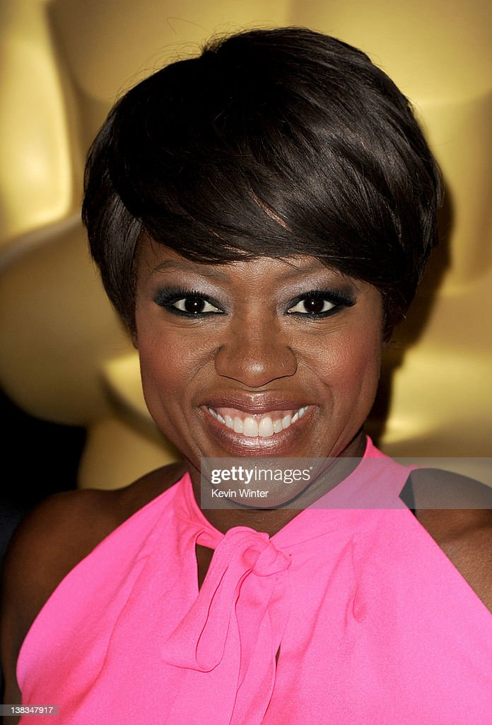 Actress Viola Davis arrives at the 84th Academy Awards Nominations Luncheon at The Beverly Hilton hotel on February 6 2012 in Beverly Hills California