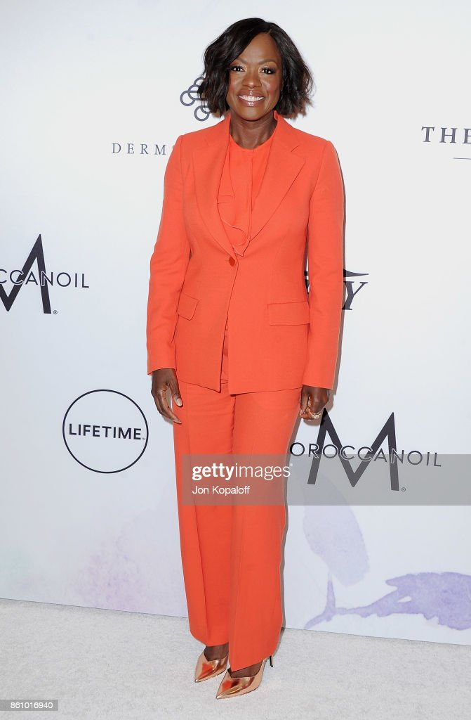 Actress Viola Davis arrives at Variety's Power Of Women: Los Angeles at the Beverly Wilshire Four Seasons Hotel on October 13, 2017 in Beverly Hills, California.