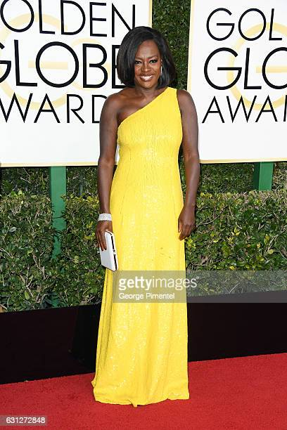 Actress Viola Davis attends 74th Annual Golden Globe Awards held at The Beverly Hilton Hotel on January 8 2017 in Beverly Hills California