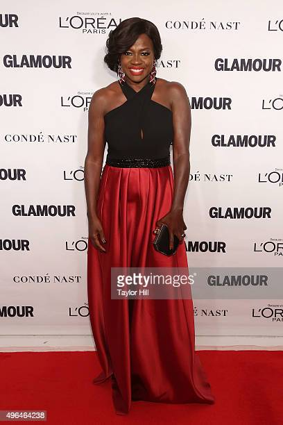 Actress Viola Davis attends Glamour's 25th Anniversary Women Of The Year Awards at Carnegie Hall on November 9 2015 in New York City
