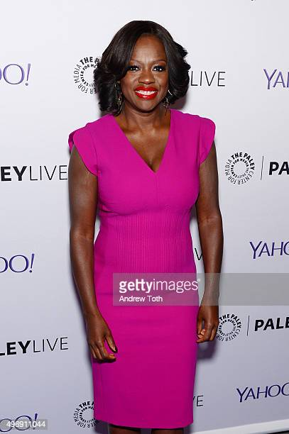 Actress Viola Davis attends PaleyLive NY 'How To Get Away With Murder' at The Paley Center for Media on November 12 2015 in New York City